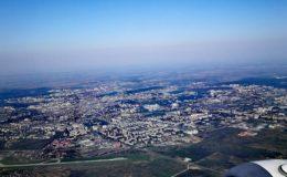 Lviv aus der Luft
