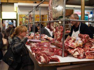Markt, Fleischtheke