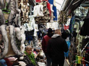 Markt, Wollkleider