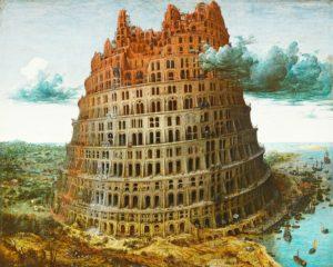 Der Turmbau zu Babel (Quelle: www.wikipedia.org/wiki/Kleiner_Turmbau_zu_Babel)